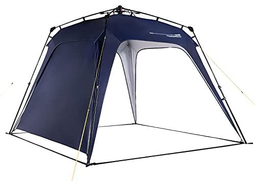 Lumaland Where Tomorrow Pop Up Pavillon Gartenzelt Camping Partyzelt Zelt robust wasserdicht Navy
