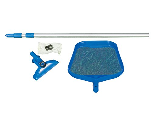 Intex Reinigungsset mit Kescher, Bodenauger Venturi 28002