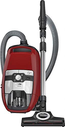 Miele Blizzard CX1 Cat und Dog PowerLine Bodenstaubsauger (ohne Beutel, 2,5 l Staubbeutelvolumen, 890 Watt, 11 m Aktionsradius, inkl. Turbobürste zur einfachen Tierhaarentfernung und HEPA Filter) rot