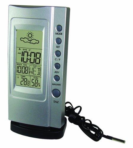 Koch elektr. Thermometer Klimatimer Plus, silber