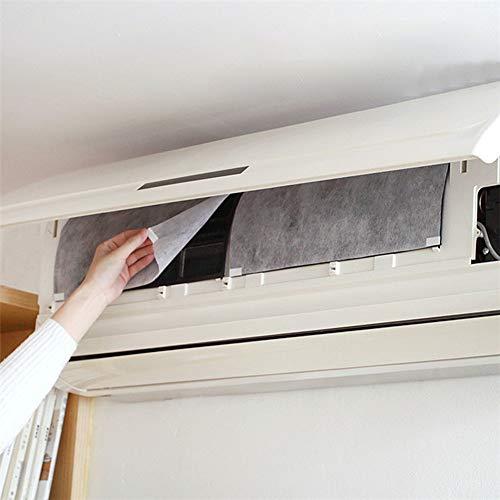 Danigrefinb Klimaanlagenfilter, 2 Stück, passend zugeschnitten, Anti-Staub-Klimaanlagen-Auslassfilter, Papierreinigungsnetz, PET