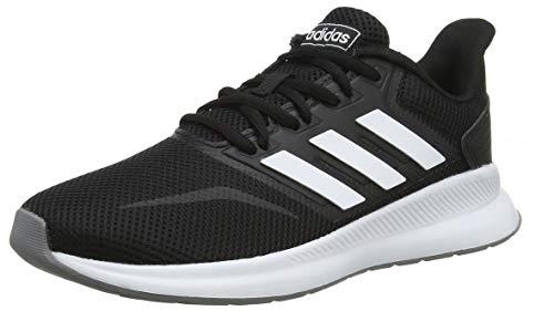 adidas Damen Falcon Laufschuhe, Schwarz (Core Black/Footwear White/Grey 0), 40 EU
