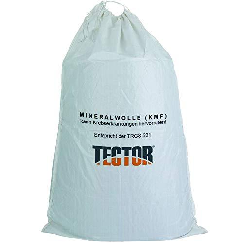 KMF Sacke Entsorgung Glaswolle Faserstaub Mineralfaserabfälle Isolierwolle 140 x 220 cm
