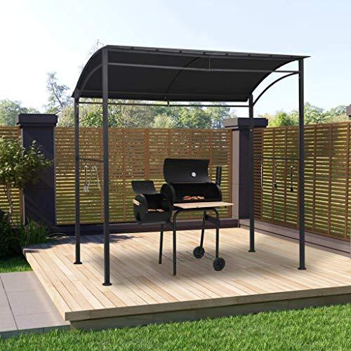 LXDDP Grillpavillon/Grillpavillon mit Regalen 215x150x220 cm Stahl