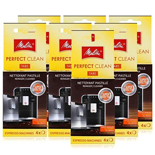 Melitta Perfect Clean Espresso Machines ReinigungsTabs 4x1,8g (7er Pack)