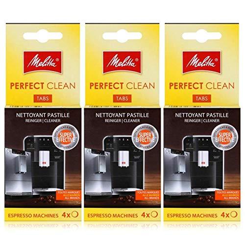 Melitta Perfect Clean Espresso Machines ReinigungsTabs 4x1,8g (3er Pack)