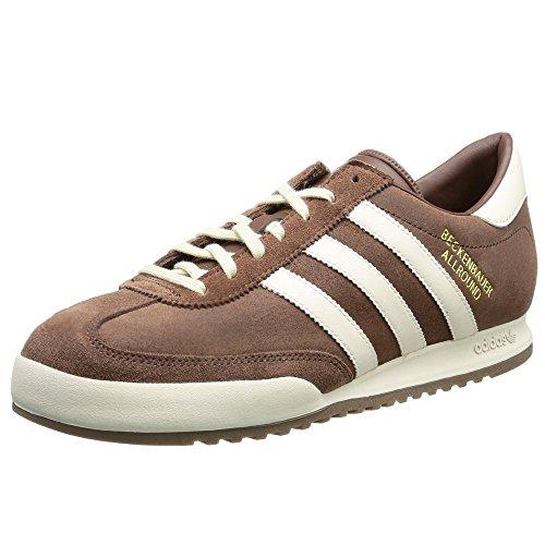Adidas Originals Beckenbauer Allround-Turnschuhe, Braun, Braun - braun - Größe: 44 2/3 EU