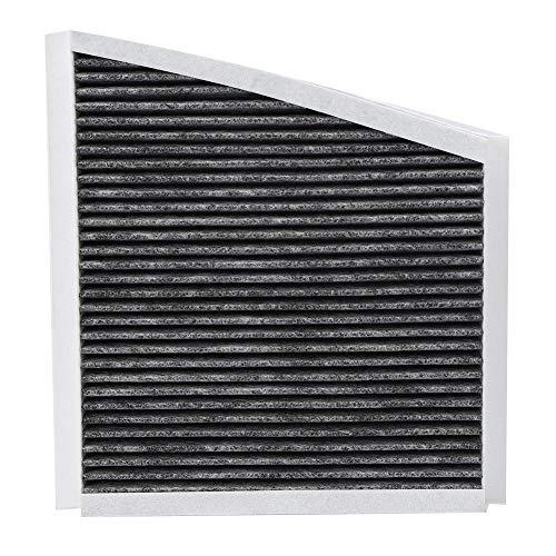Akozon Klimaanlagenfilter Aktivkohle für Innenraumluftfilter A2118300018 2118300018 für CLS (C219)