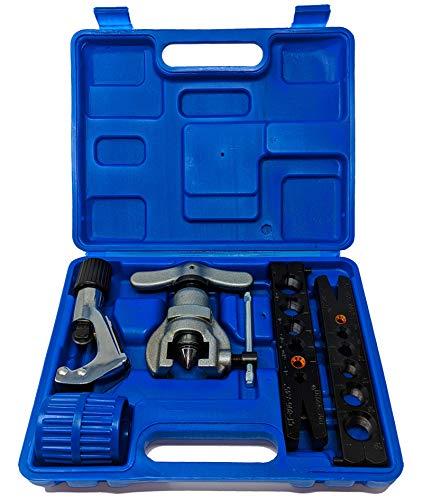 Klimaanlage Bördelwerkzeug Zoll u. Millimeter mit Koffer R407c/R410a / R32