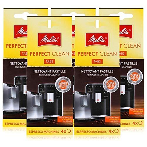 Melitta Perfect Clean Espresso Machines ReinigungsTabs 4x1,8g (5er Pack)