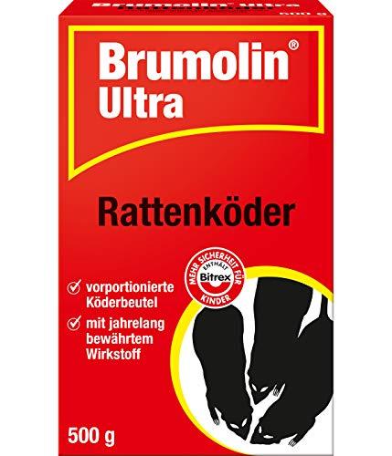 Brumolin Ultra Rattenköder, Blau, 500 gm