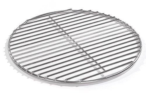 40cm Grill rund Edelstahl, Kugelgrill, 4mm Stäbe Grillrost V2A für Feuerschalen Grillschalen Rundgrill