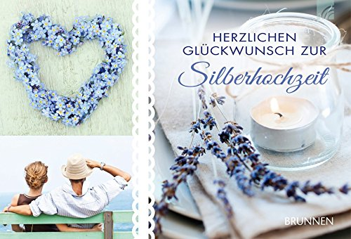 Herzlichen Glückwunsch zur Silberhochzeit: Gutscheinbuch