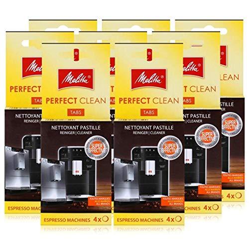 Melitta Perfect Clean Espresso Machines ReinigungsTabs 4x1,8g (8er Pack)