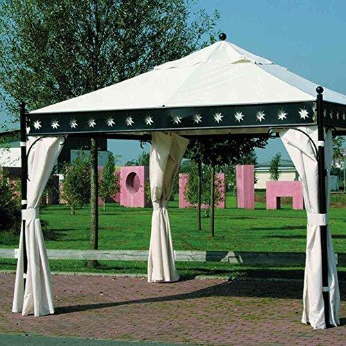 Dach natur, zu Korfu Pavillon 100% Polyester PU-beschichtet