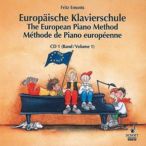 Europäische Klavierschule Band 1 CD einzeln