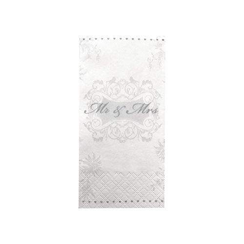 KATINGA 100 Taschentücher für Freudentränen auf der Hochzeit