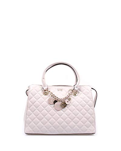 Guess Umhängetasche VICTORIA QUILTED-LOOK BAG VG710706, Color: Stone, LxBxH: 32x13x23 cm
