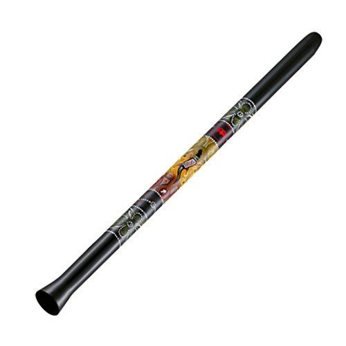 Meinl Percussion SDDG1-BK Didgeridoo aus Kunststoff, 129,54 cm (51 Zoll) Länge, schwarz