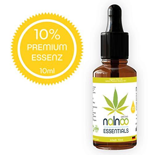 nalnoo NEUHEIT 10% MCT Essentials I Laborgeprüft, Vegan & Natürlich I Premium Qualität I + Umfangreiche Anleitung +
