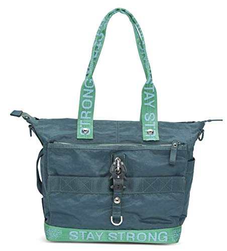 George Gina Lucy Tasche THE STYLER Nylon Roots 2 Tone 2019 (Petrol Green Strong)