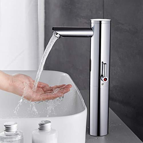 Fyeer Automatischer Sensor Wasserhahn Messing verchromt Tpy A (C)