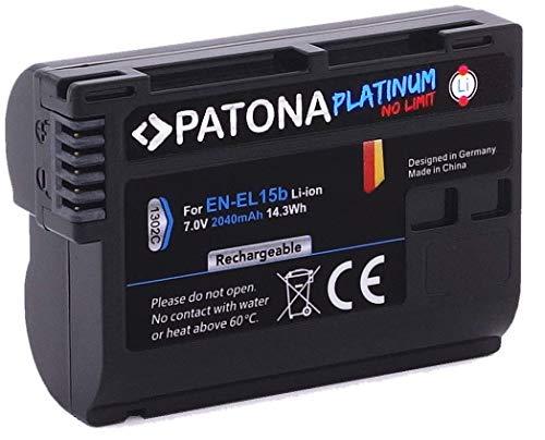 PATONA Platinum - Ersatz für Akku Nikon EN-EL15b - 2040mAh - Nikon Z6 Z7 etc.