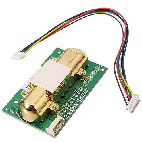 mh-z14a 0-5000ppm Infrarot CO2Sensor-Modul Analog Output Umwelt Überwachung Sensoren analog Output mit Kabel mh-z14