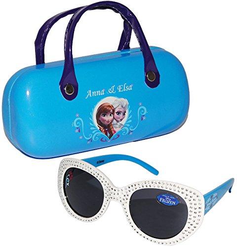 alles-meine.de GmbH 2 TLG. Set _ Sonnenbrille & Brillenetui -  Disney die Eiskönigin - Frozen  - 1 bis 8 Jahre - 100 % UV Schutz - UV 400 ( passend für Kinder von 1 bis 8 Jahre..